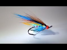 Tying a Low Water Style Salmon Fly (Silver Doctor) by Davie McPhail - YouTube