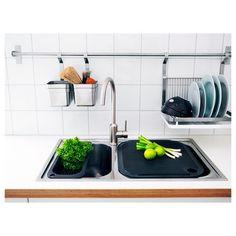 GRUNDTAL bulaşıklık paslanmaz çelik 35x37 cm   IKEA Mutfaklar