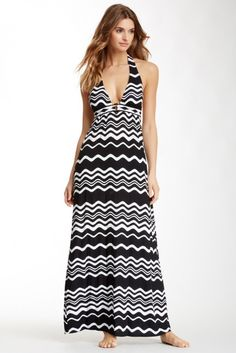In the Groove Maxi Dress