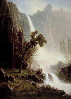 (Albert Bierstadt) (1830-1902)