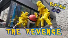 Now it's the Pokémons turn! Watch the Pikachus hunting down the Trainers with Monster-Pokéballs.  #pokemonmemes #divertido