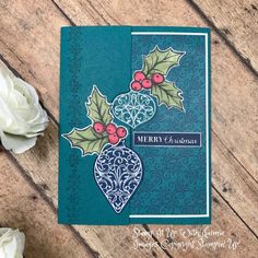 Stampin' Up! Fun Fold Christmas Gleaming Video Tutorial – Stamp It Up with Jaimie