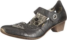Rieker womens slipper black/dust size 40.0 EU -- More info could be found at the image url.