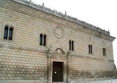 **Aparejo almohadillado. palacio de Cogolludo -Guadalajara.