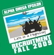 Alpha Omega Epsilon Recruitment Shirt