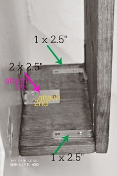 My Fabuless Life: HOW TO BUILD A WOOD CORNICE BOX