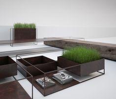 alessandro isola wireframe collection outdoor furniture designboom