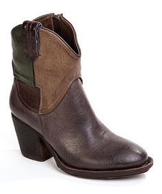 Loving this Brown Howdy Partner Boot on #zulily! #zulilyfinds