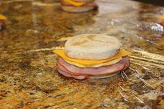 Make your own Frozen Breakfast Sandwiches