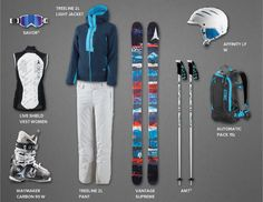 This is my Atomic style. What's yours? Share your style and win a complete set-up! #atomicskiwear.