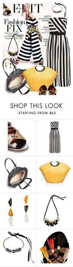 """""""Summer Charm"""" by betiboop8 ❤ liked on Polyvore featuring Malone Souliers, Coast, Loeffler Randall, Lizzie Fortunato, Marni and River Island"""