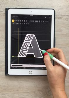 Create Fonts on Your iPad in a Few Easy Steps + 3 Free Fonts – Liz Kohler Brown