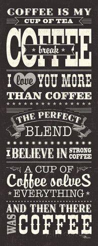 Coffee Lovers I Impressão artística