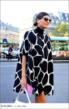 Giovanna Battaglia - Opéra - Paris. Via: Easy Fashion Paris