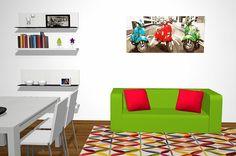 Proyecto 3D de Salón comedor moderno con un mueble TVBaixmoduls