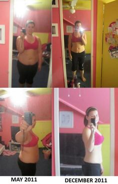 58 pounds -- How she lost 12 dress sizes in 5 months.