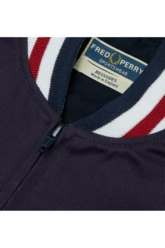 Fred Perry - Reissues Made in England Original Tennis Bomber Navy Nike Outfits, Cool Outfits, Tennis Fashion, Camisa Polo, Celebration Quotes, Fred Perry, Sportswear, Celebrity Style, How To Make