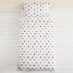 Rainbow Star Duvet Cover Set - Single - Bedding & Duvet Covers - Bedding & Room Accessories