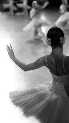 At the ballet #ballet #black_and_white_photography