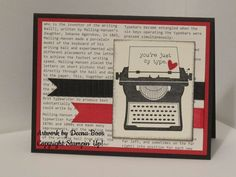 Just My Type by dboos - Cards and Paper Crafts at Splitcoaststampers