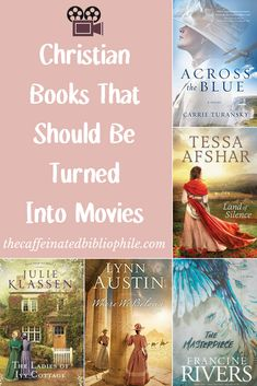 Christian Fiction Books That Should Be Turned Into Movies — The Caffeinated Bibliophile Good Christian Movies, Christian Fiction Books, I Love Books, Good Books, Books To Read, Ya Books, Book Club Books, Book Lists, Book Clubs