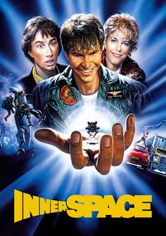 A description of tropes appearing in Innerspace. A 1987 sci-fi comedy starring Dennis Quaid, Martin Short, and Meg Ryan. Rather surprisingly not the huge hit … Fiction Movies, Sci Fi Movies, Funny Movies, Good Movies, Science Fiction, Science Movies, Excellent Movies, Meg Ryan, Martin Freeman