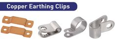 Our #CopperEarthingClips, #EarthClips and #DCtapeclips are made of Brass or Gunmetal and used with Bare Copper Tape Conductor so that are used to secure Tape to structure.Visit @ http://www.copperearthingaccessories.com/products/copper-earthing-clips/