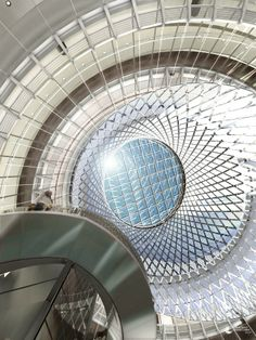 Reconnecting the Subway with the Sky / Fulton Center , New York