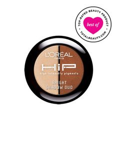Best Drugstore Eye Shadow No. 5: L'Oréal Paris Hip High Intensity Pigments Bright Shadow Duo, $8.25