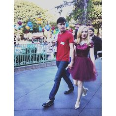 How cute are Dove Cameron & Ryan McCartan together? (Check out her tips for dressing up for a first date by clicking the pic!)