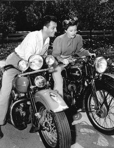 Robert Taylor and Barbara Stanwyck