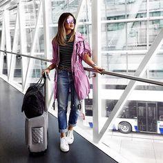 Airport style pra não perder o costume!  {Aproveito para agradecer todos que me acompanharam durante as semanas de moda e dizer que vocês são muito especiais nessa trajetória! } #btviaja #thassiastyle