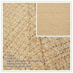 This heavyweight fabric features a Chanel style design noted for its pebbly surface. It has a stripe pattern with pops of rainbow colors on a sand beige background Chanel Style, Chanel Fashion, Tweed, Beige Background, Stripe Pattern, Rainbow Colors, Surface, Fabrics, Fashion Design