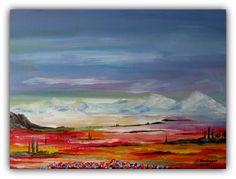 Acryl/Leinwand 30 cm x 40 cm x 1,5 cm Preis 160,- Euro Provence
