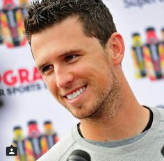 Buster Posey.. Good lord that smile!