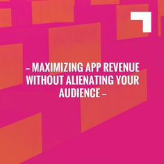 Hoping you'll love this post... Maximizing App Revenue Without Alienating Your Audience http://thisisglance.com/maximizing-app-revenue-without-alienating-your-audience/?utm_campaign=crowdfire&utm_content=crowdfire&utm_medium=social&utm_source=pinterest