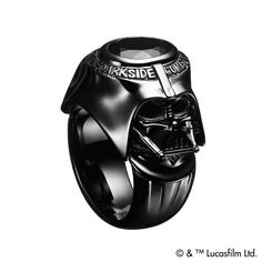 Darth Vader College Ring // Justin Davis®
