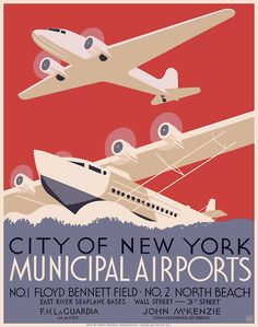 I'm a fan of travel posters from the 1920s-40s.