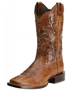 Ariat® Men's Cowboss Wildhorse Tan Boots