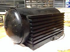 "Silvertone 6110 Black Bakelite ""Rocket"" Radio 1938 39 | eBay"