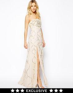 Needle & Thread Ornate Prom Maxi Dress #asos #needle&thread #maxidress