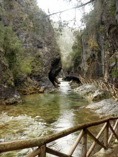 The Infinite Gallery : Ruta Del Borosa, Spain The Places Youll Go, Places To See, Wonderful Places, Beautiful Places, Portugal, Spain Travel, Travel Around, Wonders Of The World, Scenery