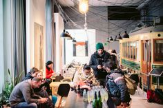 Korjaamo Café / Helsinki Finland