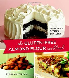 I love that this cookbook doesn't require me to whip up specialty blends of flour for each item! The focus on almond flour make these recipes grain-free as well! It's really a bakebook more than a general cookbook, with recipes like savory pie crust and pizza dough. The author sticks with her preferred ingredients throughout the book, such as grapeseed oil and agave sweetener, but because the recipes are so wonderfully simple it should be fairly easy to make substitutions and experiment.