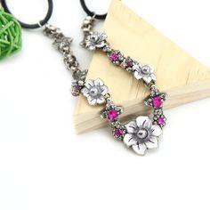 Silver Flower With Purple Elastic Rhinestone Headband Fashion Jewelry Only at: $11.99 & FREE Shipping Worldwide