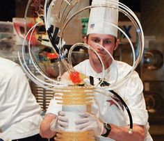 Where the Event Industry Meets for Tips, Trends, and Best Practices Pulled Sugar Art, Kai Arts, Food Sculpture, Creative Food Art, Candy Art, Cake Flowers, Sugar Sugar, Pastry Chef, Art Challenge