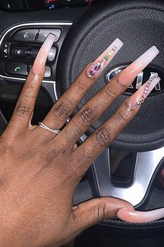 Prom Nails, Bling Nails, Coffin Nails, Acrylic Nails, Acrylics, Long Cute Nails, Nail Trends, Color Trends, Glamour Nails