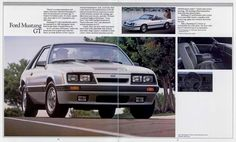1985 Ford Mustang GT Three Door and Convertible