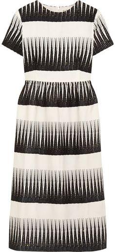 db914f22d4d Suno Embroidered wool-twill dress Frocks