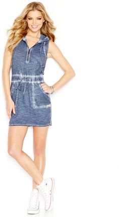 GUESS Hoodie Sheath Dress - Click the link for product details :)